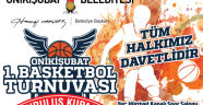 1. BASKETBOL TURNUVASI BAŞLIYOR